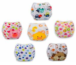 Reusable Adjustable Baby Cloth Diaper Cover Training Pants +
