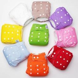 Adjustable Reusable Lot Baby Kids Boy Girls Washable Cloth D