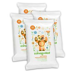 Babyganics Alcohol-Free Hand Sanitizing Wipes, Mandarin, On-