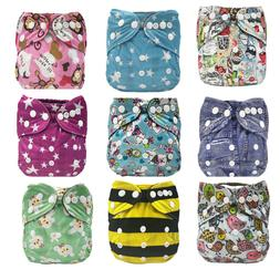 All-In-One AIO Cloth <font><b>Diaper</b></font> for <font><b