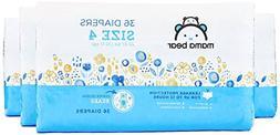 Amazon Brand - Mama Bear Diapers Size 4, 144 Count, Bears Pr