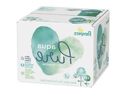 Pampers Aqua Pure 6X Pop-Top Sensitive Water Baby Wipes - 33