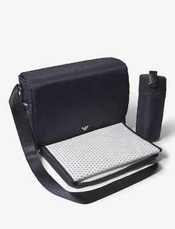 Armani Junior Baby Diaper Changing Bag & Insulated Bottle Ho