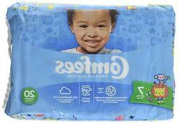 Attends® Comfees® Premium Baby Diapers Size 7 Case of 80