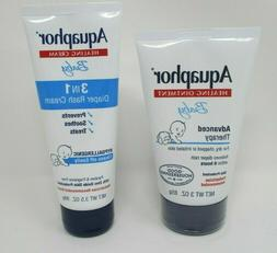 Aquaphor Baby Advanced Therapy Healing Ointment  & 3 in 1 Di