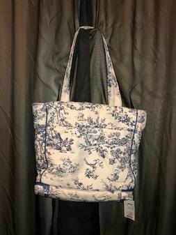 BABY & CO. Kalencom Diaper Bag, BLUE TOILE, New, With Tags