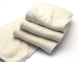 Greener Odyssey Baby Bamboo Terry Cloth Diaper Insert 5 Laye