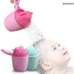 Baby Bath Product Cute Cartoon Baby Hair Shower Cup O041
