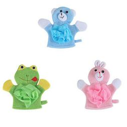 Baby Bath Skin Care Products Double-sided Animals Bathing So