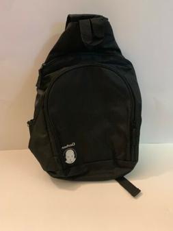 Gerber Baby Bottle Diaper Bag One Strap Black Mutli Pocket A