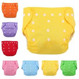 Baby Boy Girl Cloth Diaper Nappies Training Pants Washable U