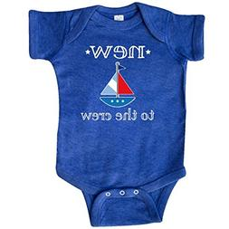 inktastic - Baby Boy New to Infant Creeper 12 Months Retro H