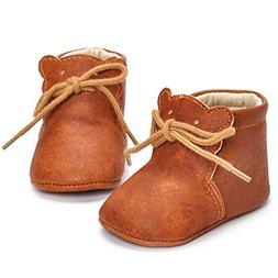 Matoen Baby Boys Girls Cartoon Bear Soft Sole Boots Casual S