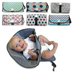 baby changing pad waterproof nappy bag foldable