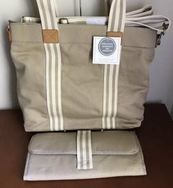 Pottery Barn Kids / Baby Classic Mom Diaper Tote~Natural~No