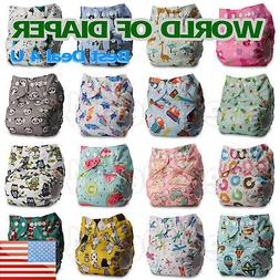Baby Cloth Diaper Insert Reusable Nappy Couche Windeln Paña