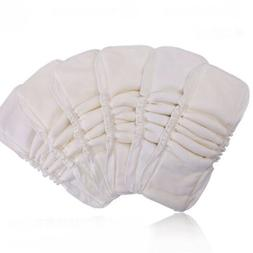 Baby Cloth Diaper Inserts Soaker Pads Reusable Washable No-L