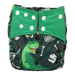 Baby Cloth Diaper Nappy Cover Bamboo Charcoal Reusable Gusse