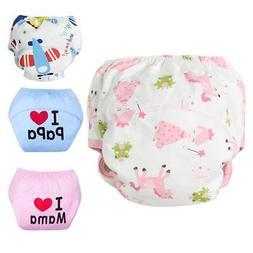 Baby Cloth Diaper Underwear Infants Reusable Nappies Washabl