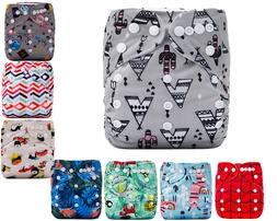 Baby Cloth Diapers One Size Reusable Pocket Nappy For Newbor