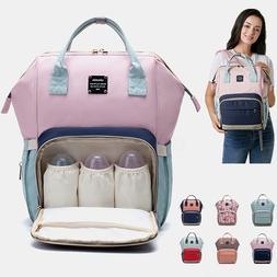 LEQUEEN Baby Diaper Backpack Bag Waterproof Mummy Maternity