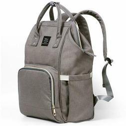 Baby Diaper Backpack MultiFunction Waterproof Big Capacity D