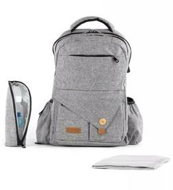 Baby Diaper Backpack With Changing Mat And Storage Pockets $