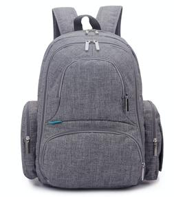Lokass Baby Diaper Backpack With Insulated Pockets Large Siz