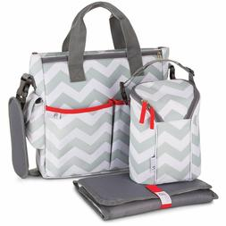 Baby Diaper Bag for Girls & Boys – 3 in 1 Compact Diaper W