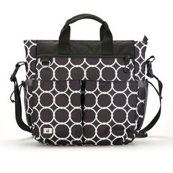 Baby Diaper Bag  Extra Large Zippered Tote with 13 Pockets,