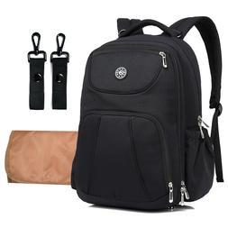 Nylon Baby Diaper Bag Nappy Backpack Waterproof Stroller Hoo