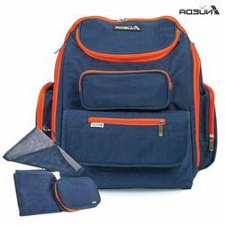 NUEDA Baby Diaper Bag Travel Backpack, Unisex Durable Large