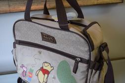 Baby Diaper Bag Disney Winnie The Poo  Multiple Pockets New