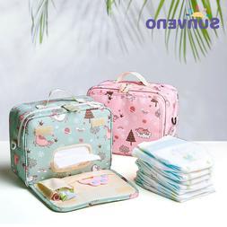 Sunveno Baby Diaper Bags Maternity Bag for Disposable Reusab