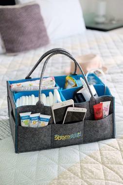 Bebemode - Baby Diaper Caddy, Large Portable Foldable Storag
