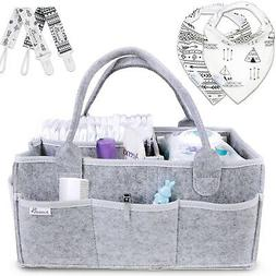 Baby Diaper Caddy Organizer Portable Holder Bag For Changing