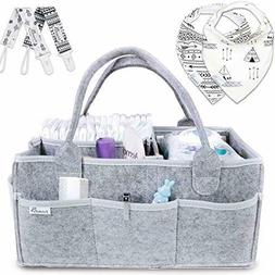 Putska Baby Diaper Caddy Organizer: Portable Holder Bag for