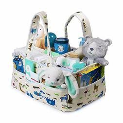 Baby Diaper Caddy Organizer Spacious Diaper Caddy Organizer