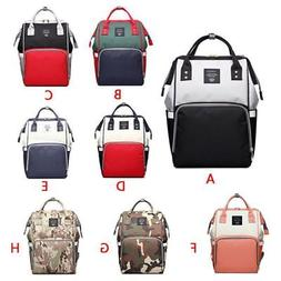 Baby Diaper Nappy Mummy Chang Bag Backpack Multifunctional S
