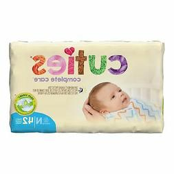 Cuties Baby Diaper Newborn Up to 10 lbs. CR0001 168 /Case