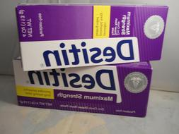 Desitin Baby Diaper Rash Maximum Strength,  4 Oz EACH