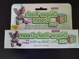 Natureplex Baby Diaper Rash Zinc Oxide 1.5oz Compares Ingred