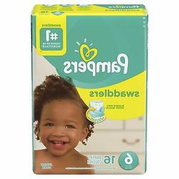 Pampers Swaddlers Baby Diaper Size 6 Up to 35 lbs. 74961 64
