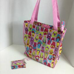 Baby Diaper Tote Bag For Day At The Beach Mix Animal & Flowe