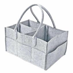 Baby Diaper Wipes Bag Caddy Nursery Storage Bin Nappy Organi