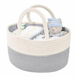 Baby Diaper Wipes Caddy Nursery Bag Infant Nappy Bin Storage