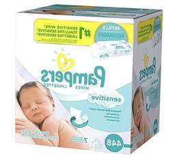 Pampers Baby Diaper Wipes Stuff Refill Bulk Unscented Sensit