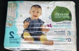 Seventh Generation Baby Diapers #2 Animal Design Sensitive S