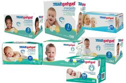 Baby Diapers and Wipes compared to PAMPERS size 1,2,3,4,5,6