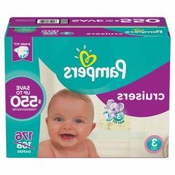 Baby Diapers Pampers Cruiser Size 3  Boy Girl Box Pack Stret